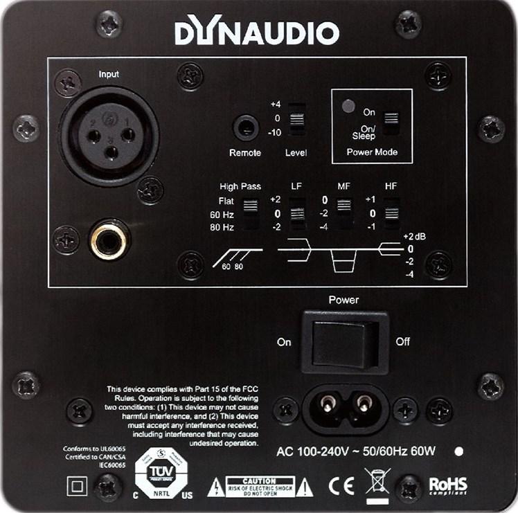 Задний вид Dynaudio X Excite X14A