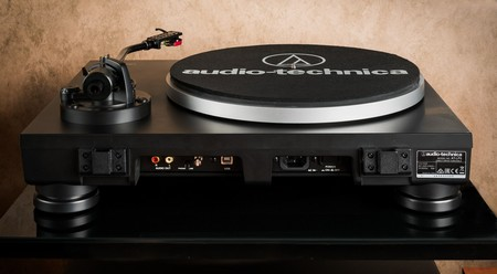 Audio-Technica AT-LP5x вид сзади