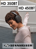 Sennheiser HD 450 BT и HD 350 BT