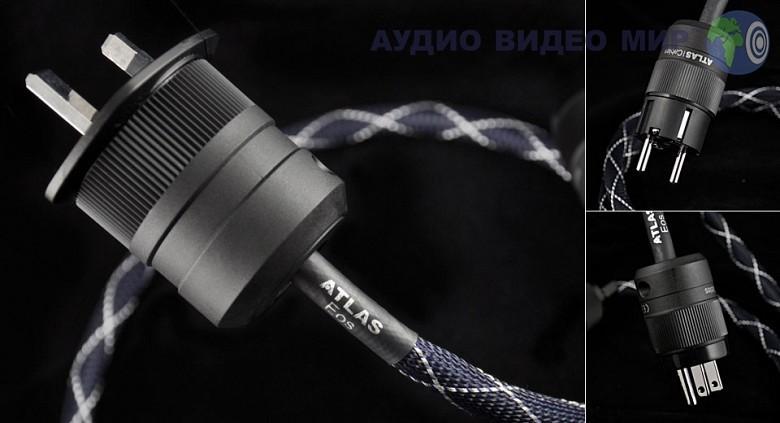 atlas Силовой кабель Atlas EOS MK II 2sqmm 1 m
