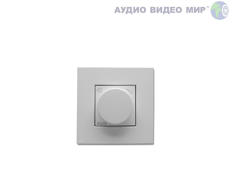 apart Регулятор громкости Apart N-VOL30-W White