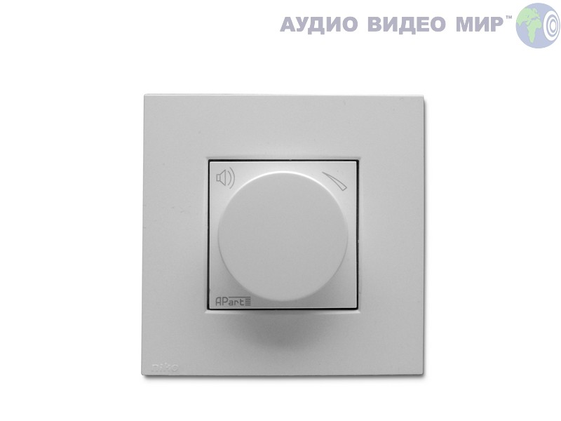 apart Регулятор громкости Apart N-VOLST-W White