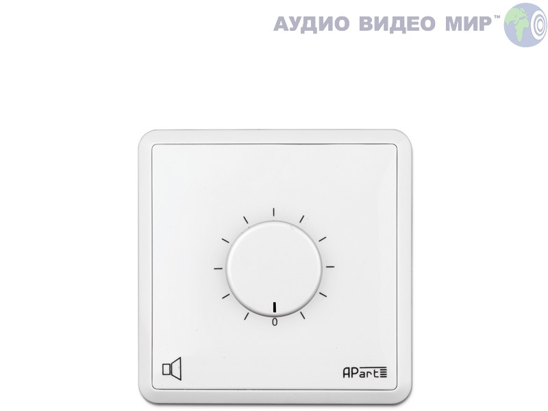 apart Регулятор громкости Apart E-VOL60 White