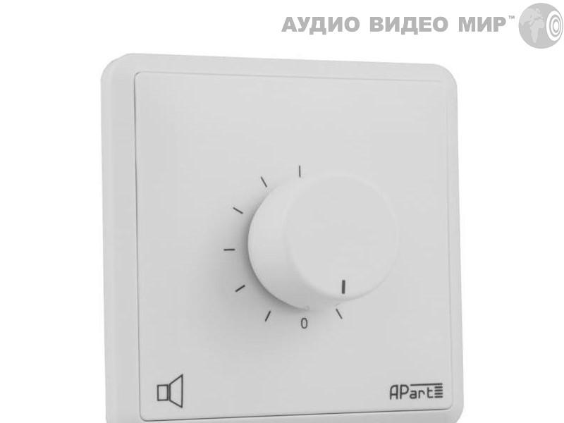 apart Регулятор громкости Apart E-VOLST White