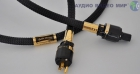 Силовой кабель HB Cable Design Golden Sunrise USA-standard 1.5m