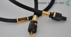 Силовой кабель HB Cable Design Golden Sunrise USA-standard 2.5m