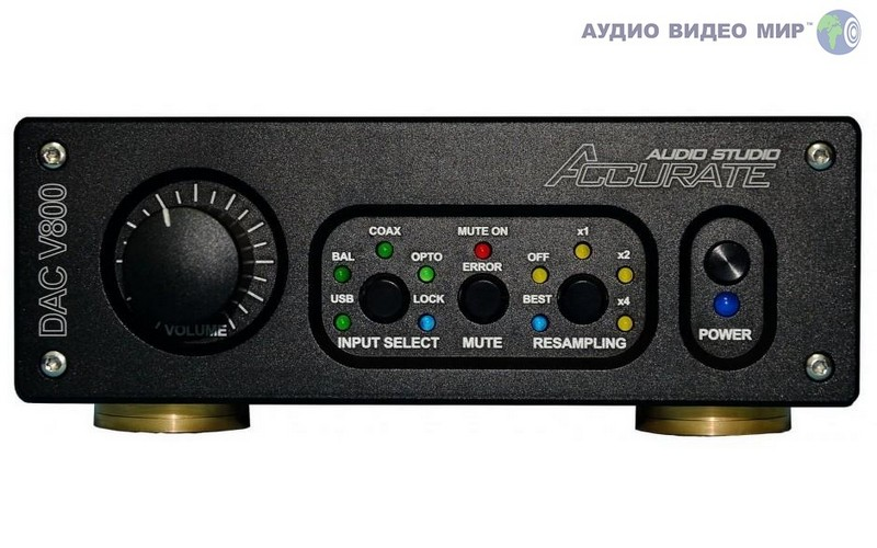 accurate audio ЦАП Accurate Audio DAC V800 Black