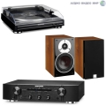 Стерео комплект с винилом Marantz PM5005 Black+Marantz TT 5005+DALI Zensor 3 Light Walnut