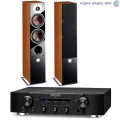 Стерео комплект Dali Zensor 5 Light Walnut+Marantz PM6006 Black