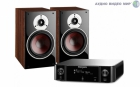 Стерео комплект Dali Zensor 3 Light Walnut+Marantz MCR511 Black