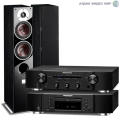 Стерео комплект Dali Zensor 5 Black Ash+Marantz CD6006 Black+Marantz PM6006 Black