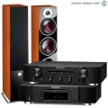 Стерео комплект Dali Zensor 5 Light Walnut+Marantz CD6006 Black+Marantz PM6006 Black
