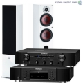 Стерео комплект Dali Zensor 5 White+Marantz CD6006 Black+Marantz PM6006 Black