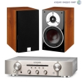 Стерео комплект Dali Zensor 1 Light Walnut+Marantz PM5005 Silver Gold