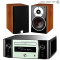 Стерео комплект Dali Zensor 1 Light Walnut+Marantz MCR611 Melody Stream Mint Green