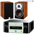 Стерео комплект Dali Zensor 3 Light Walnut+Marantz MCR611 Melody Stream Mint Green
