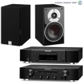 Стерео комплект Dali Zensor 1 Black Ash+Marantz CD6006 Black+Marantz PM6006 Black