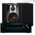 Стерео комплект Dali Opticon 2 Black+Onkyo TX-8130 Set Black