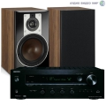 Стерео комплект Dali Opticon 2 Light Walnut+Onkyo TX-8130 Set Black