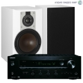Стерео комплект Dali Opticon 2 White+Onkyo TX-8130 Set Black