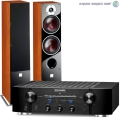 Стерео комплект Marantz PM7005 Black+DALI Zensor 7 Light Walnut