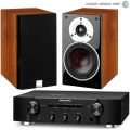 Стерео комплект Marantz PM5005 Black+DALI Zensor 3 Light Walnut