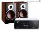 Стерео комплект Denon CEOL RCD-N9 Black+DALI Zensor 3 Light Walnut