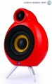 Акустика PodSpeakers MicroPod Bluetooth Red 1 set