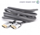 HDMI кабель Mt-Power HDMI  2.0 SILVER 0.8m