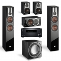 Onkyo TX-RZ830 Black + комплект 5.1 Dali Opticon 6/1/Vokal/Sub E-12 F Black
