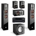 Onkyo TX-NR686 Black + комплект 5.1 Dali Opticon 6/1/Vokal/Sub E-12 F Black