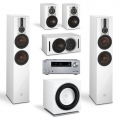 Onkyo TX-NR686 Silver + комплект 5.1 Dali Opticon 6/1/Vokal/Sub E-12 F White