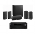 Onkyo TX-SR373 Black + комплект 5.1 Harman Kardon HKTS 5 Black