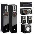 Onkyo TX-RZ730 Black + комплект 5.1 Dali Opticon 5/1/Vokal/Sub E-9 F Black