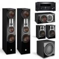 Onkyo TX-RZ830 Black + комплект 5.1 Dali Opticon 8/2/Vokal/Sub K-14 F Black
