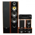 Onkyo TX-SR373 Black + комплект 5.0 Taga Harmony TAV-606 v.3 Set Walnut