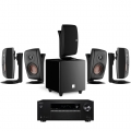 Onkyo TX-SR373 Black + комплект 5.1 Dali Fazon Sat 5.0/Sub 1 Black