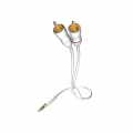 Аудио кабель Inakustik Star 3.5mm-2RCA 0.5m White