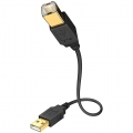 USB кабель Inakustik Premium High Speed USB 2.0 A-B 1m